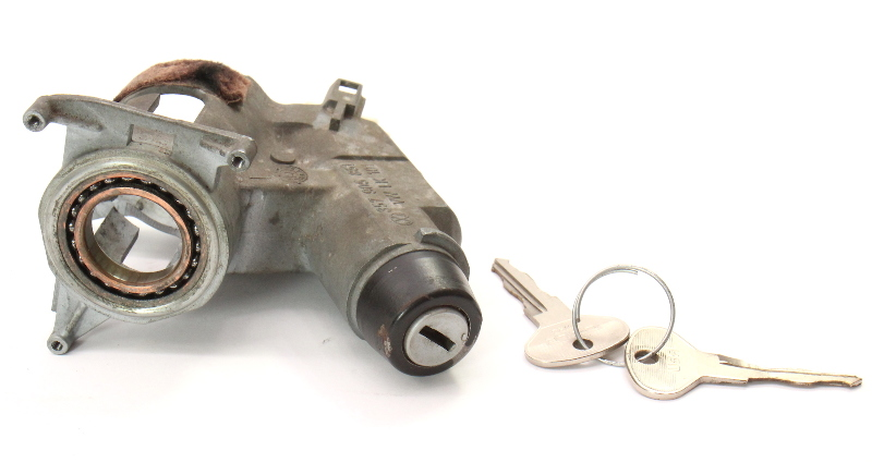 Ignition Housing Collar & Key 89-99 VW Jetta Golf MK2 MK3 MT _ 357 905 851