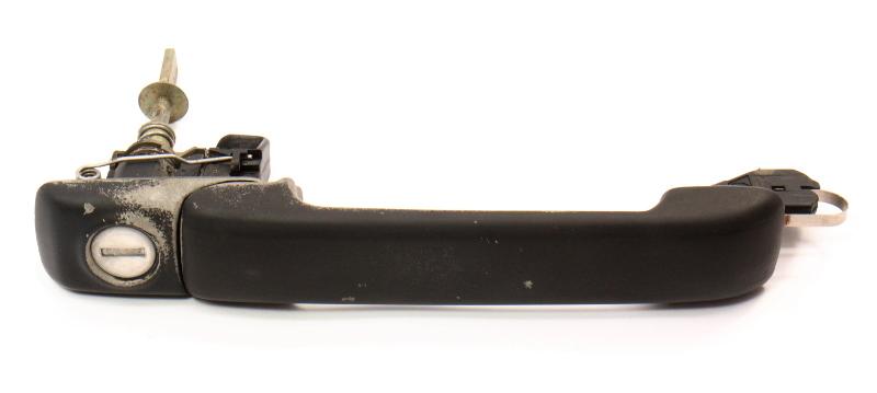 Exterior Door Handle & Lock Cylinder 93-99 VW Jetta Golf GTI Cabrio MK3 Genuine