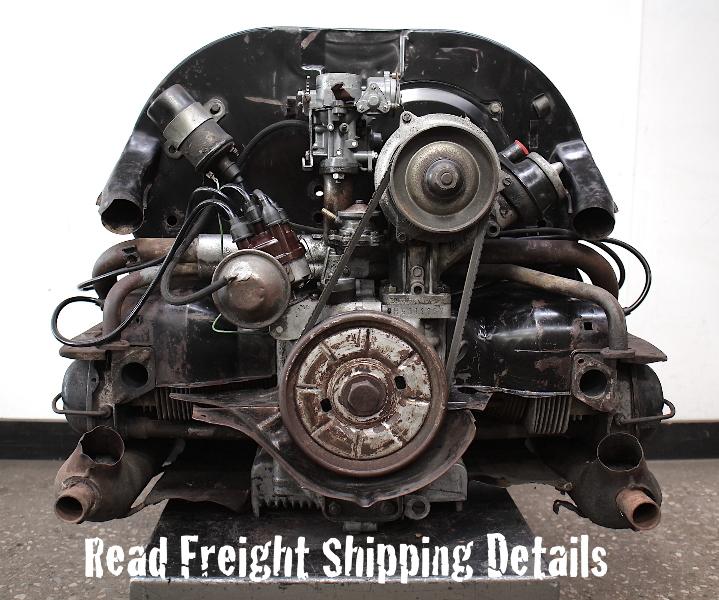 68-69 Aircooled Engine VW Beetle Bus Ghia Motor 1500CC Single Port - H5811169