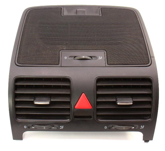 Upper Center Dash Vent Trim 05-10 VW Jetta Rabbit GTI Golf MK5 - 1K0 819 153 B