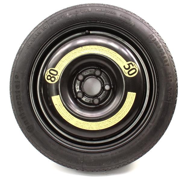"""5x100 16"""" Spare Tire Donut 93-99 VW Jetta GLX GTI Mk3 Passat B4 VR6 3A0 601 025"""