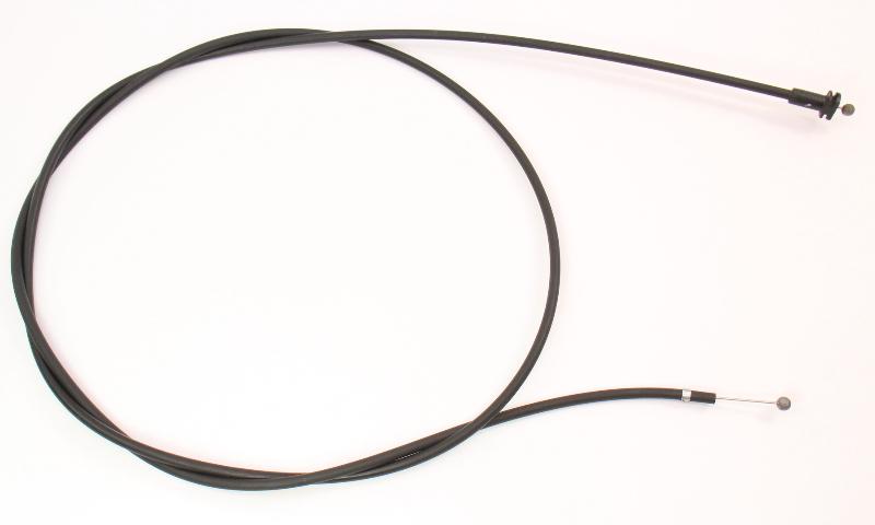 Hood Latch Release Pull Cable 90-97 VW Passat B3 B4 - Genuine - 357 823 531