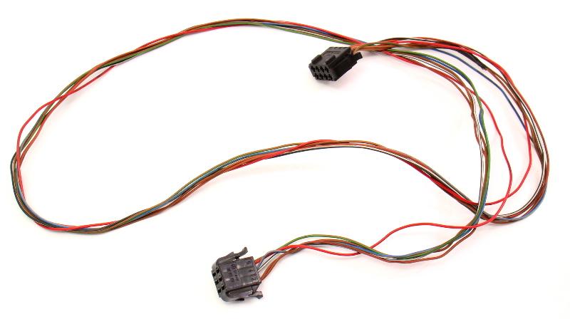 Dash Rear Window Switch Wiring Harness 95-97 VW Passat B4 - Genuine
