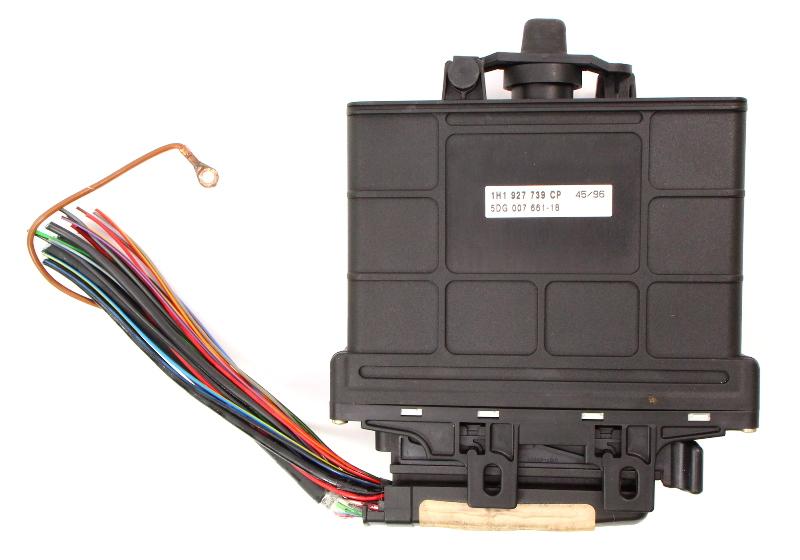 TCM Transmission Computer & Plug 1996 VW Jetta GTI Passat B4 VR6 01M 927 733 CB