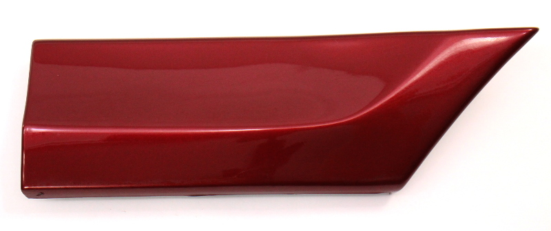 RH Front Small Fender Molding Trim 95-97 VW Passat B4 LC3T Red - 3A0 853 518 A