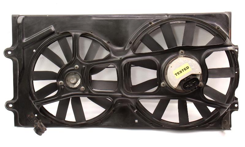 Radiator Electric Fan Motor & Blades 95-97 VW Passat B4 Genuine ~ 3A0 959 455 M