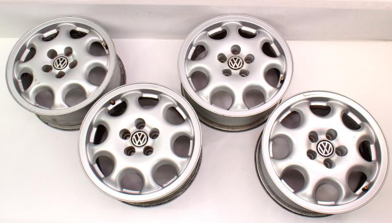 "Set of 4 Stock BBS 15"" Alloy Wheel Rims 95-97 VW Passat B4 5x100 VR6 GTI MK3 OE"