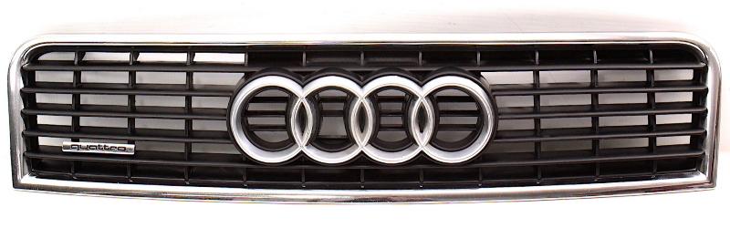Upper Radiator Hood Grill Grille 02-05 Audi A4 B6 - Genuine - 8E0 853 651 F