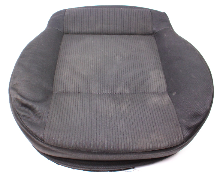 Front Seat Cushion Foam & Cover VW Jetta Golf MK4 Cloth - Genuine