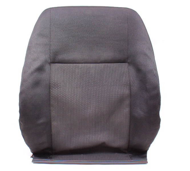 LH Front Seat Back Rest Cover & Foam 99-05 VW Jetta MK4 - Cloth - Genuine