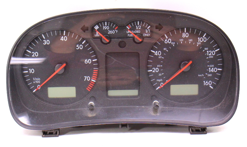 Gauge Cluster Speedometer Parts Only 1999 99 VW Jetta Golf MK4 - 1J0 919 951 C