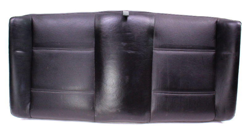 Black Leather Rear Seat Backrest & Cover 95-02 VW Cabrio MK3 - 1E0 885 501