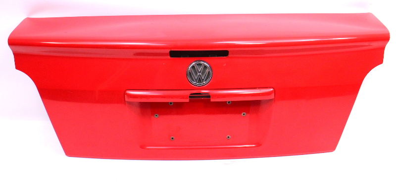 Trunk Deck Lid 95-99 VW Cabrio MK3 - LP3G Flash Red - Genuine