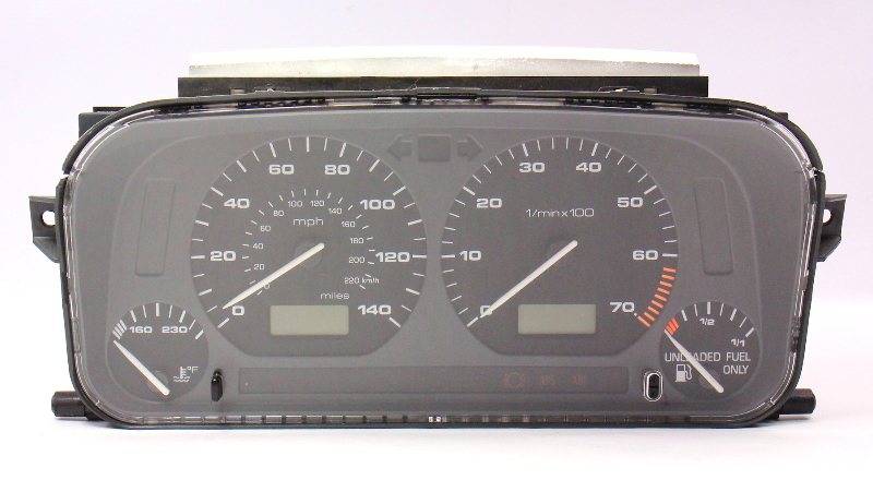 nissan bose radio wiring diagram bose 321 fuse diagram gauge instrument cluster speedometer 95 96 jetta golf #11