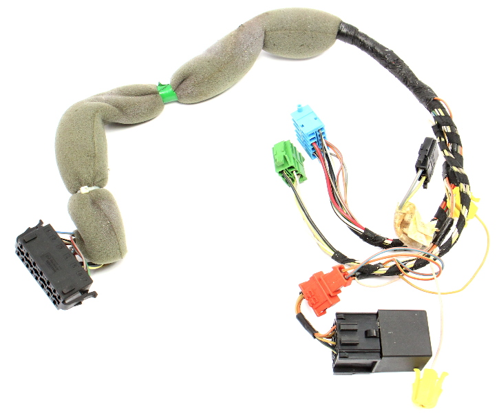 Headlight Switch Wiring Harness 99-02 VW Cabrio MK3 - Genuine - 1EM 971 055 B
