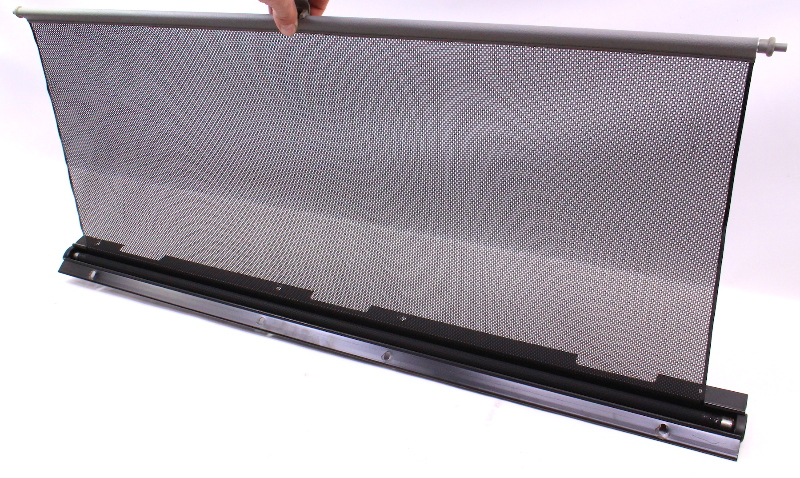 Rear Window Sun Shade Screen Visor 01-05 VW Passat B5 Black - 3B5 861 325 B