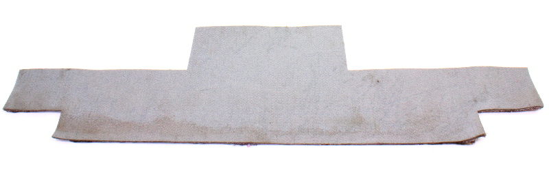 Hatch Trunk Tail Carpet Cover Panel 75-84 Rabbit GTI MK1 Grey - Genuine