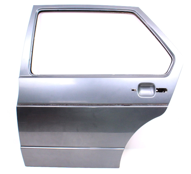LH Rear Door Shell 79-84 VW Rabbit MK1 - LE6U Gray - Genuine Original