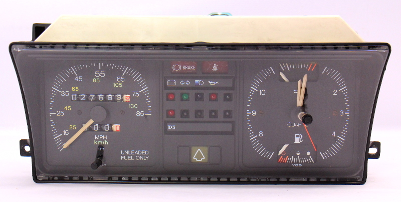 Gauge Instrument Cluster VW Rabbit Gas MK1  Speedometer 175 919 035 B0