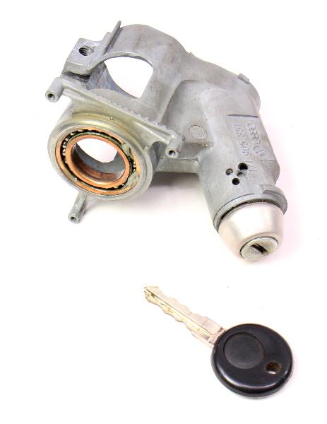 Ignition Collar Housing & Key 75-84 VW Rabbit GTI MK1 . Genuine . 171 905 851