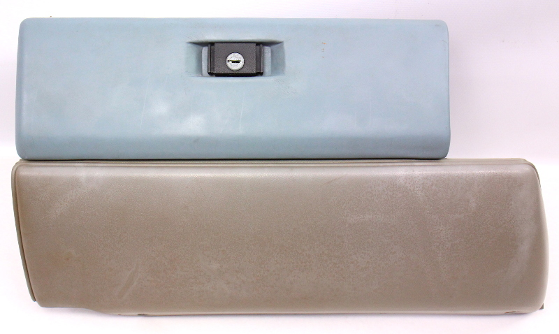 Grey Glovebox 81-84 VW Rabbit GTI MK1 Glove Box . Genuine . 175 857 101 A
