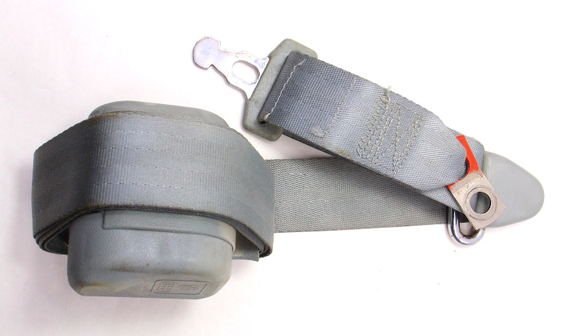 Front Seatbelt Shoulder Seat Belt 80-84 VW Rabbit GTI MK1 - Grey - 177 857 705
