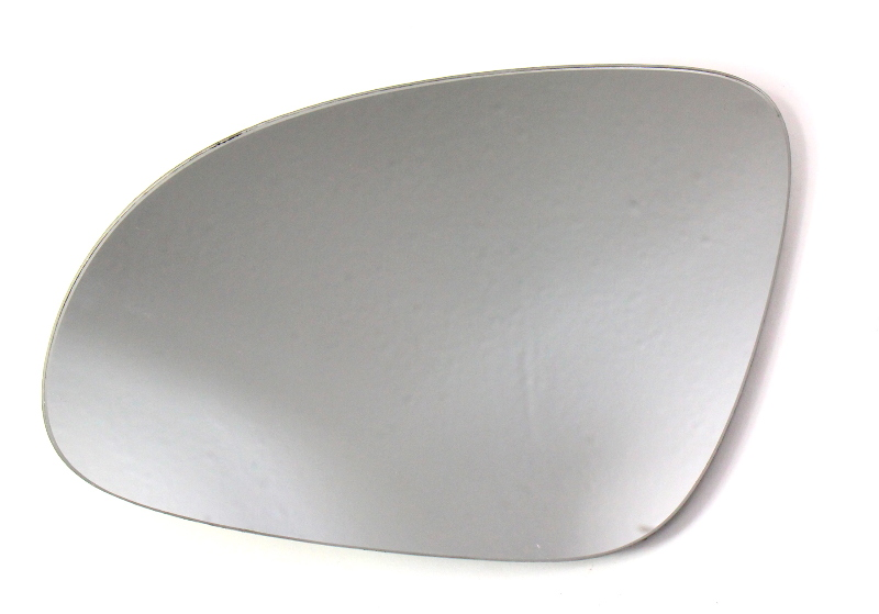 LH Exterior Side View Door Mirror Glass 06-09 VW Rabbit Golf GTI MK5