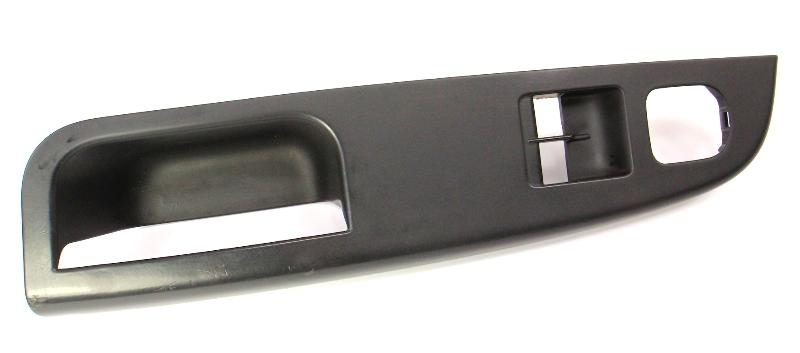 Driver Door Pull Handle Switch Trim 05-10 VW Rabbit Golf GTI MK5 - 1K3 868 049 C