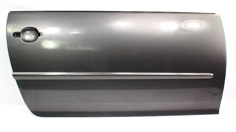 RH Front Door Shell Skin 06-09 VW Rabbit GTI MK5 2DR LA7T Gray - 1K3 831 106 J