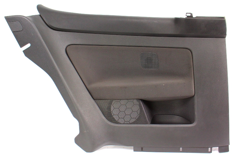LH Rear Door Seat Side Panel 06-09 VW Rabbit Golf GTI MK5 - 1K3 867 043 BQ