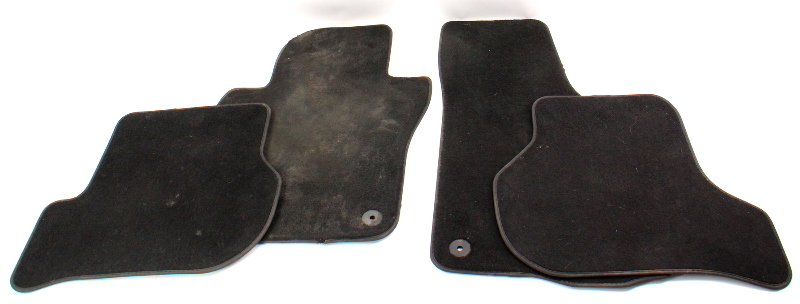 Floor Mats Carpet Set 06-10 VW Jetta Rabbit GTI MK5 Genuine ~ 1K1 863 011 M