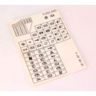 fuse diagram key card 99 05 vw jetta golf mk4 genuine. Black Bedroom Furniture Sets. Home Design Ideas