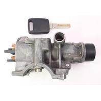 Ignition Collar & Key Set 99-01 Audi A6 C5 - Genuine - 4B0 905 851 B