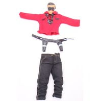 Ideal Captain Action Lone Ranger Clothing Mask Holster Belt Vintage Toys