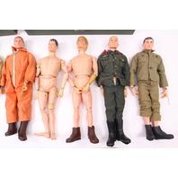 1964 Hasbro GI Joe Collection Figures Gears Footlocker A.S. Radio