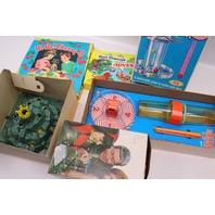 Vintage Board Games  King Hill Tic Tac Tower KerPlunk Hi-Ho Cherry Adventureland