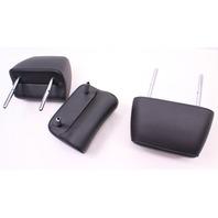 Rear Back Seat Headrest Set 11-14 VW Jetta Sportwagen MK6 - Genuine