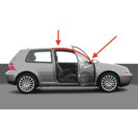 RH Roof Door Seal Strip Molding Trim 99-05 VW Golf GTI MK4 2 Door 1J6 653 706 K