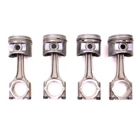 Piston & Connecting Rod Set 81-84 VW Rabbit Pickup Jetta Scirocco Mk1 - Genuine