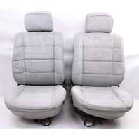 Interior Seat Set Front & Rear 75-84 VW Rabbit LX MK1 - Grey - Genuine