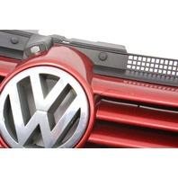 Upper Grill Grille 99-05 VW Jetta MK4 LC3K Canyon Red - Genuine - 1J5 853 655 A