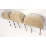Rear Headrest Head Rest Set VW Jetta Golf GTI MK4 Beige Tan Cloth ~ Genuine