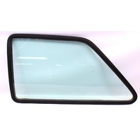 LH Rear Side Window Quarter Glass & Seal 85-92 VW Jetta MK2 Coupe 2 Door