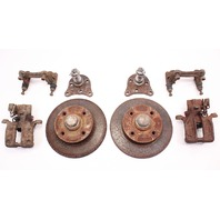 Rear Disc Brake Conversion Set 93-99 VW Jetta Golf GTI Cabrio MK3 - Genuine