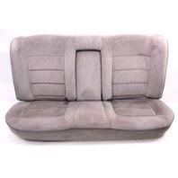Rear Back Seat Seats W/ Arm Rest 85-92 VW Jetta Golf MK2 Grey - Genuine
