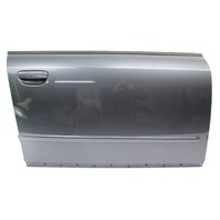 RH Passenger Front Door Shell Skin 02-05 Audi A4 S4 B6 - LX7Z Dolphin Grey