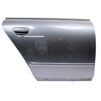 RH Rear Door Shell Skin 02-05 Audi A4 S4 B6 - LX7Z Dolphin Grey
