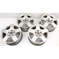 "Set Of 4 Stock Wheels 16"" 5x112 VW Audi A4 B6 - Genuine - 8E0 601 025 C"