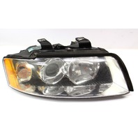 RH Halogen Headlight 02-05 Audi A4 B6 Head Light Lamp - Genuine - 8E0 941 004 B