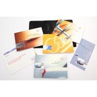 Owners Manual Book Booklet 03 2003 Audi A4 B6 - Genuine